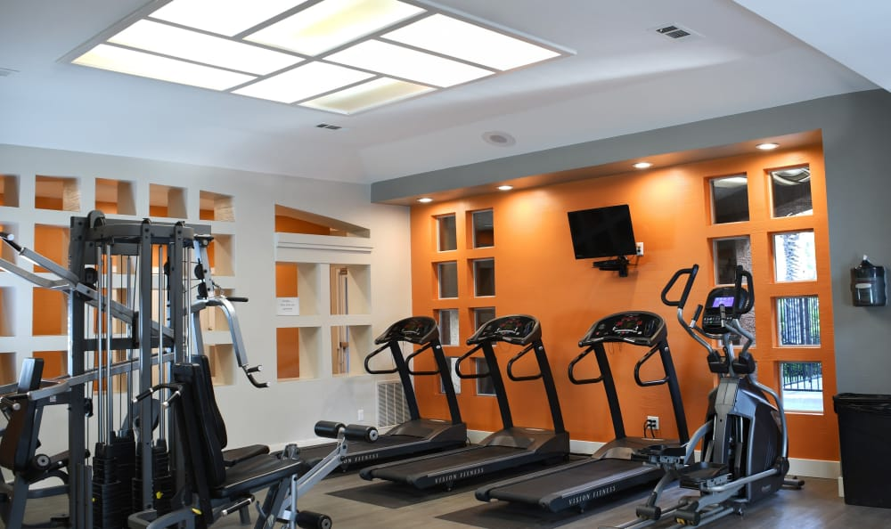 Fitness Center At Tuscany Village Apartments