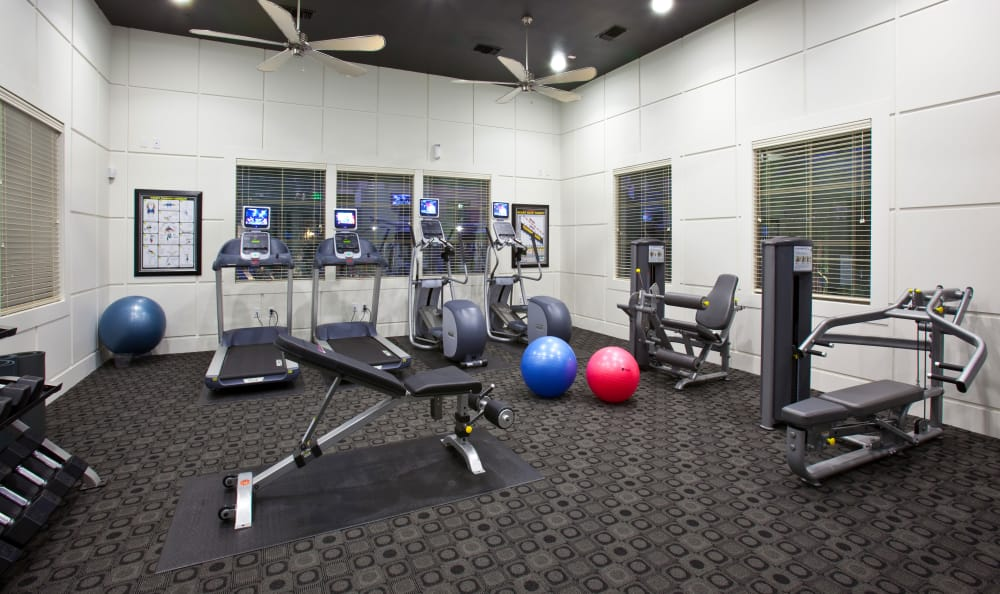 On-site fitness center at Mountain Gate & Mountain Trails