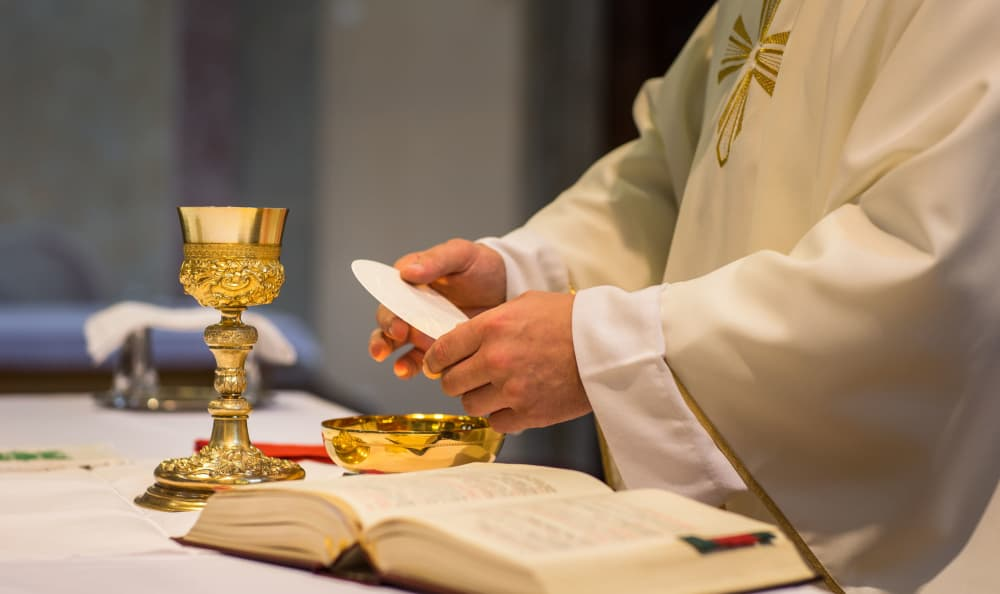 Eucharist at St. Anthony's Senior Living