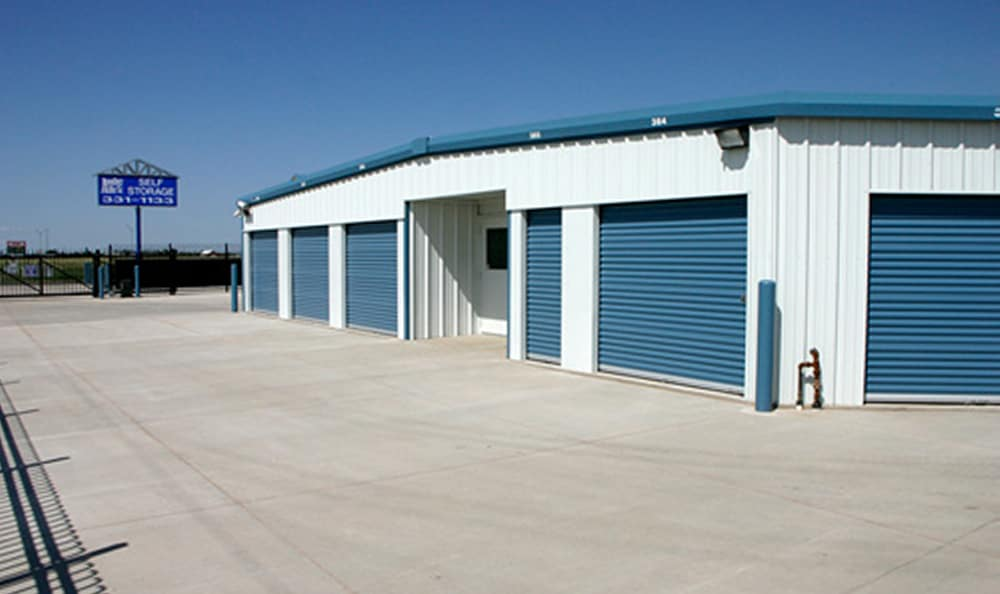 Storage units at Another Attic Self-Storage in Amarillo, TX