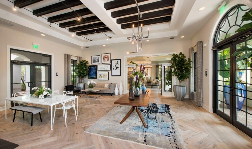 Open seating area at Casa Vera in Miami, FL