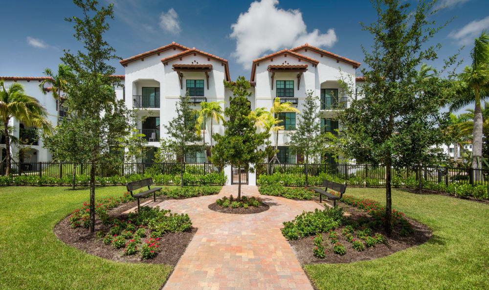 Garden at Casa Vera in Miami, FL