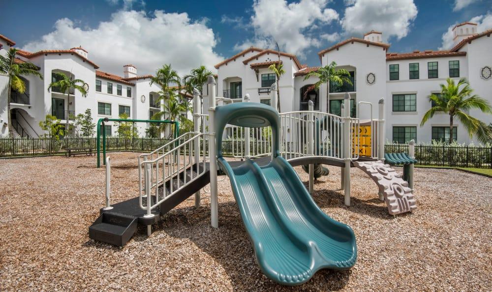 Playground at Casa Vera in Miami, FL
