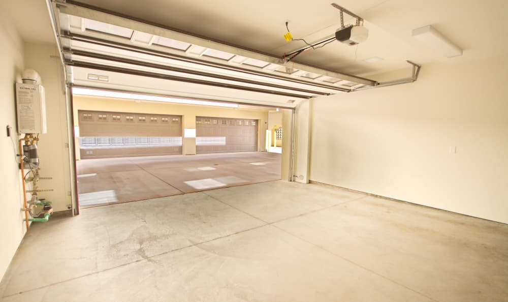 Underground parking at IMT Townhomes at Magnolia Woods in Sherman Oaks, CA