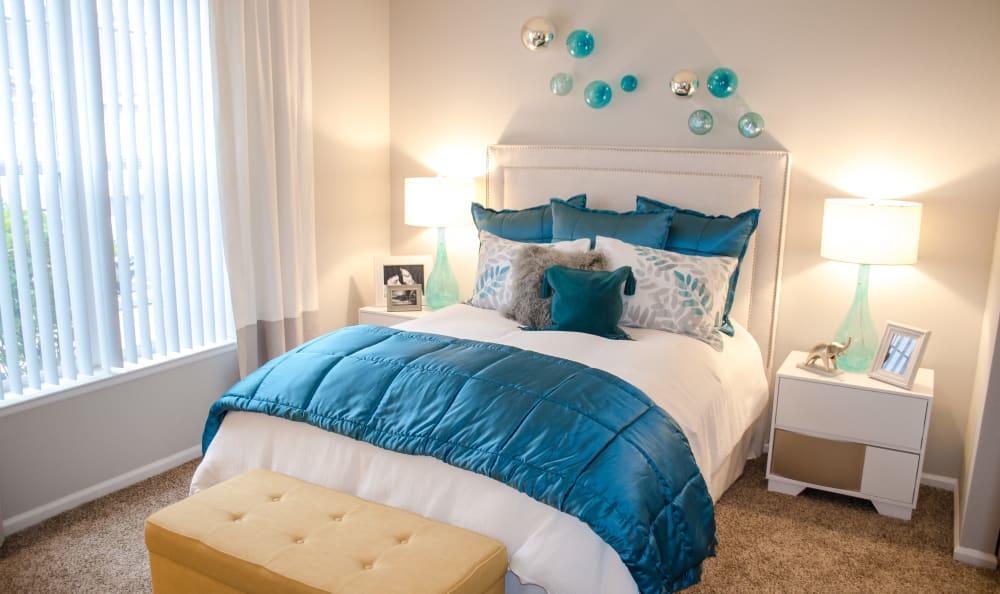 Bedroom at Bear Valley Park in Denver, Colorado