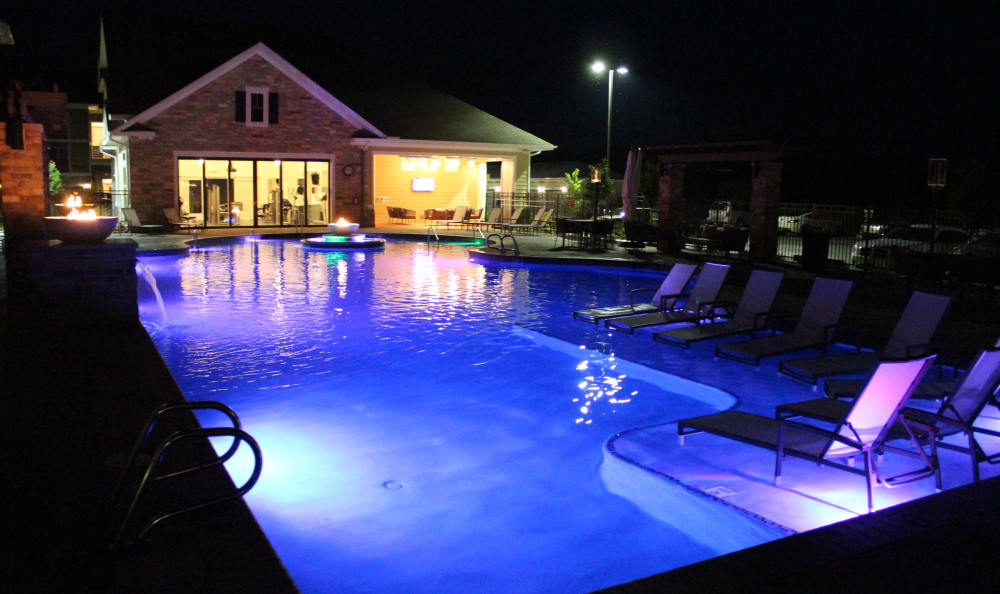 Swimming pool at Red Knot at Edinburgh in Chesapeake, Virginia