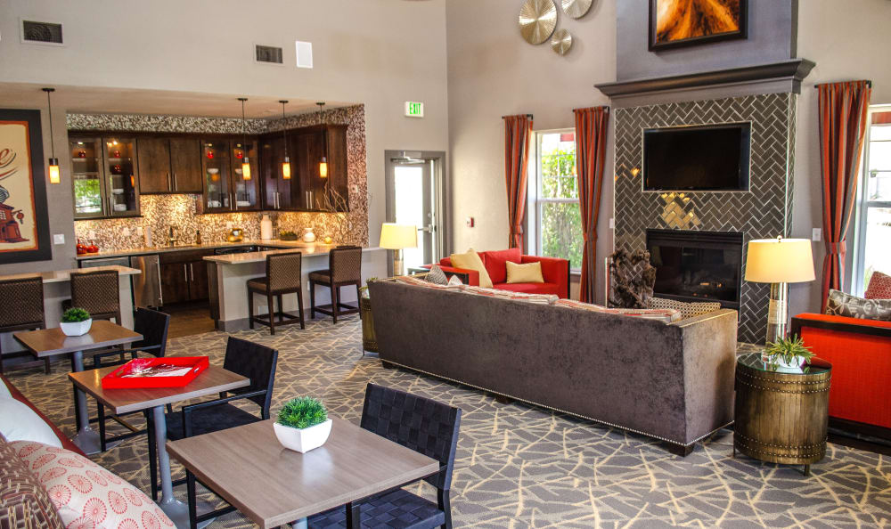 luxury clubhouse at Bear Valley Park in Denver, Colorado