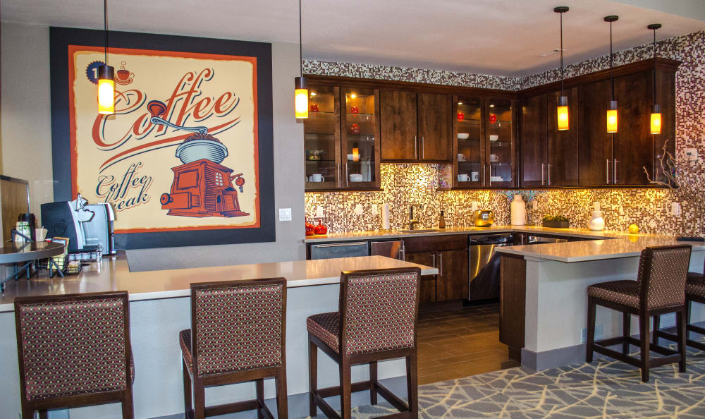 Renovated clubhouse at Bear Valley Park in Denver, Colorado