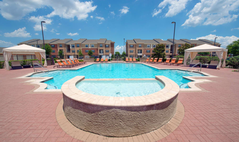Our apartments in McKinney, Texas offer a swimming pool