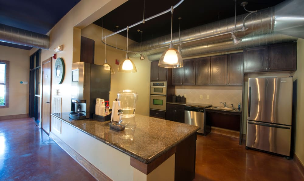 Our apartments in McKinney, Texas offer a kitchen
