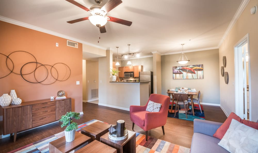 Our apartments in The Colony, Texas offer a living room
