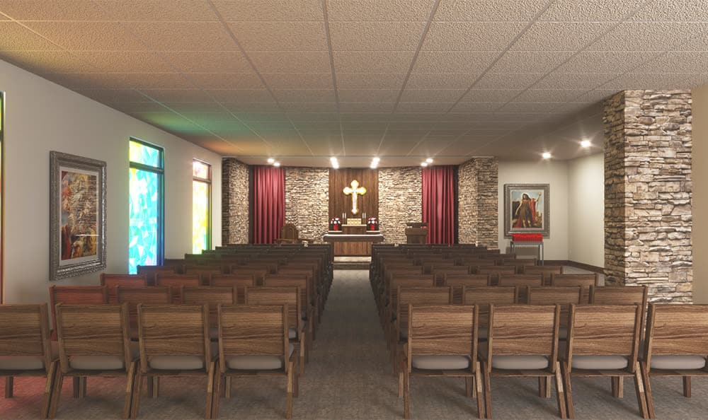 St. Anthony's Kansas City Senior Living Chapel
