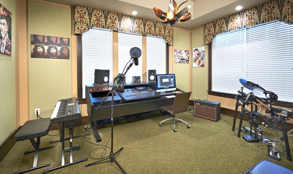 Music Studio at M2 Apartments in Denver, CO