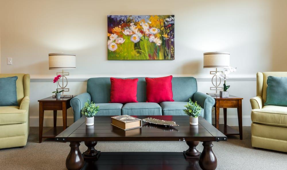 The Mansions at Alpharetta offers a lounge in Alpharetta, Georgia