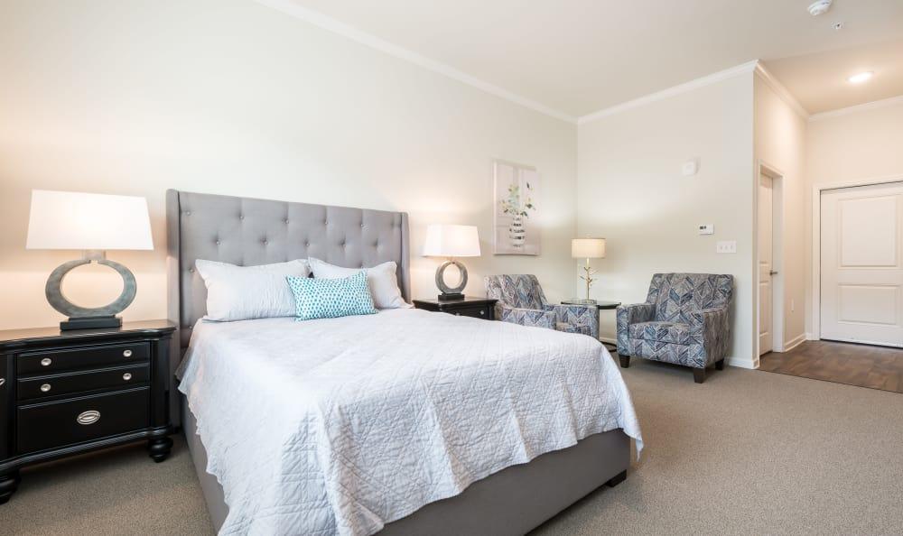 Bedroom at The Mansions at Alpharetta in Alpharetta, Georgia