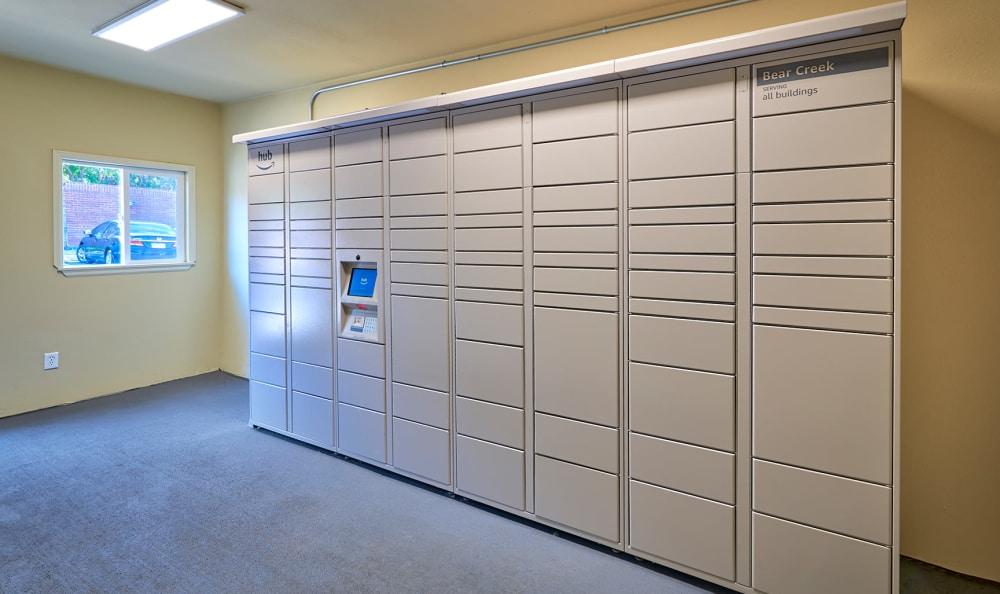 Package Locker Room