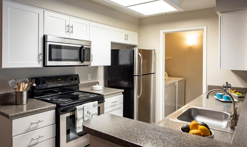 Kitchen at Sierra Del Oro Apartments