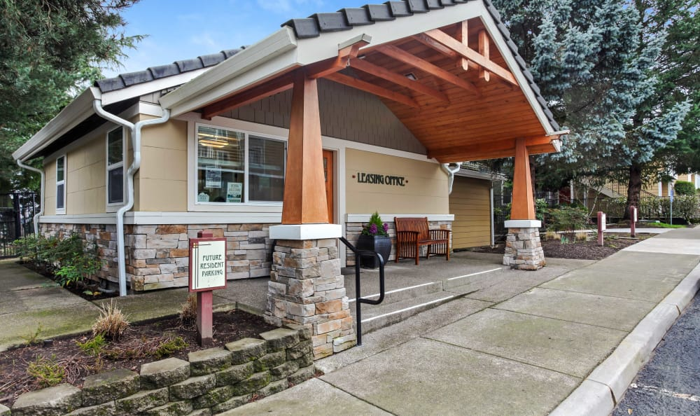 Leasing Office at Maybeck at the Bend in Tigard, OR