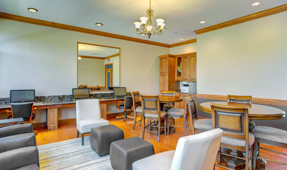 The Preserve at Osprey Lake offers a modern clubhouse in Gurnee, Illinois