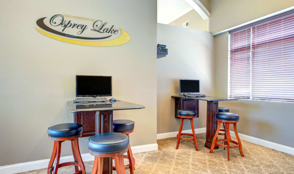 Our apartments in Gurnee, Illinois showcase a modern clubhouse