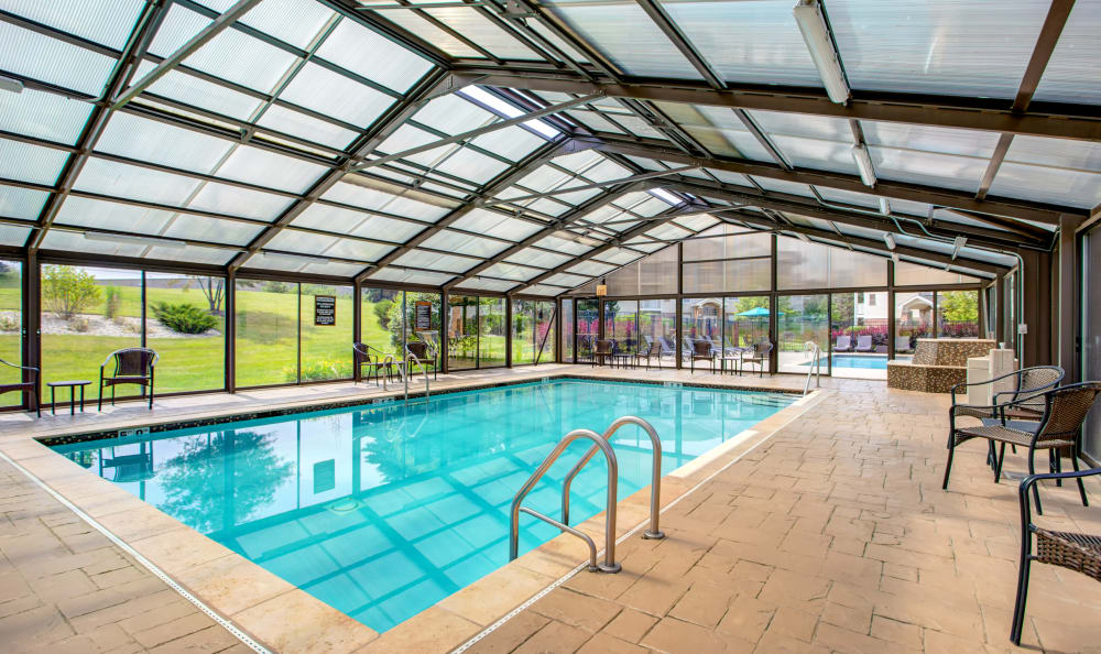 The Preserve at Osprey Lake offers a spacious swimming pool in Gurnee, Illinois