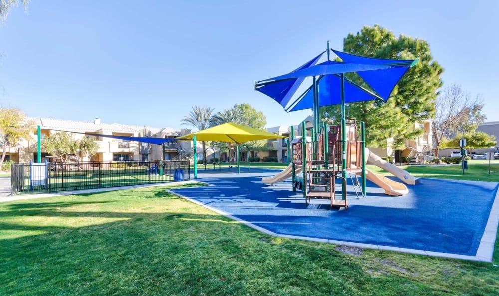 Onsite playground at The Boulevard in Phoenix, Arizona