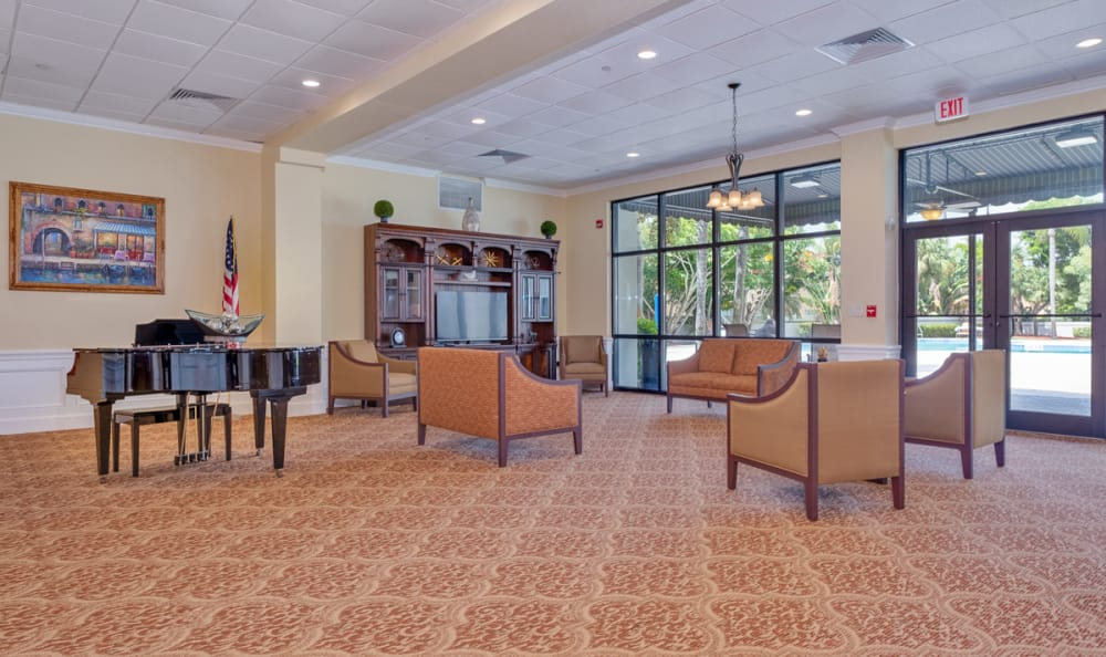 Common Room at Grand Villa of Boynton Beach in Boynton Beach, Florida