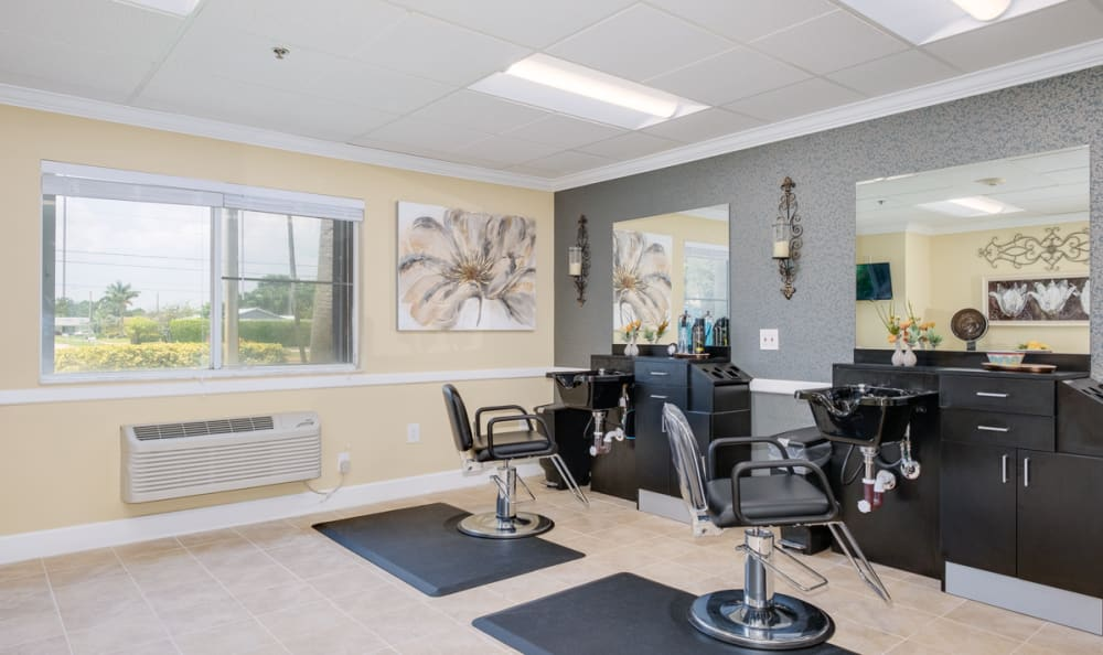 Spa & Salon at Grand Villa of Deerfield Beach in Deerfield Beach, Florida