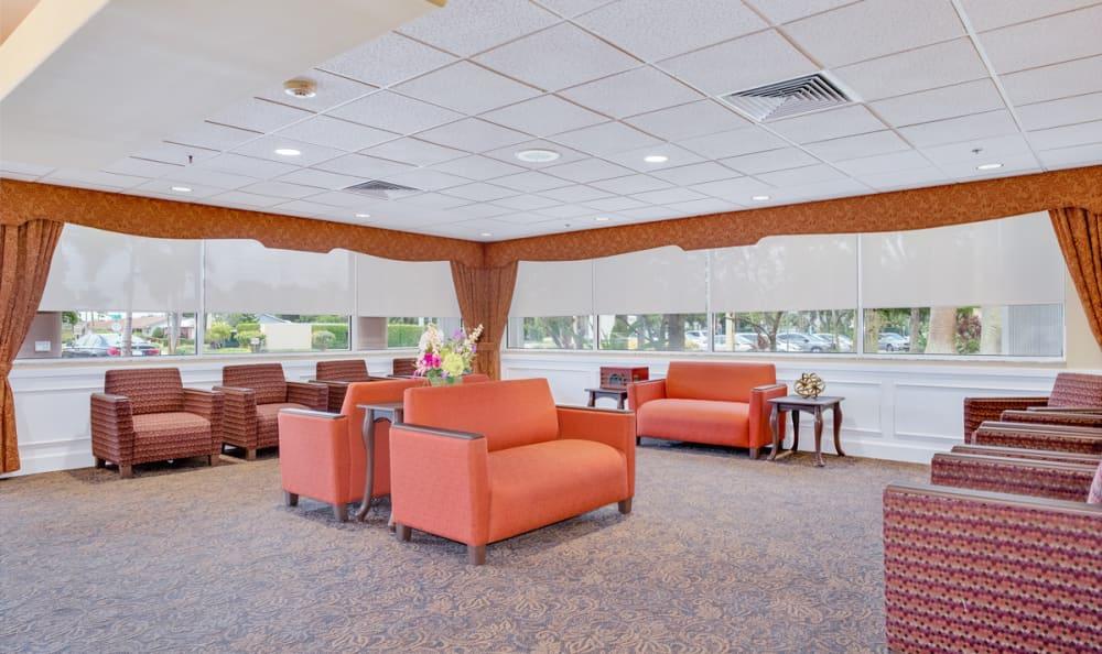 Common Room at Grand Villa of Deerfield Beach in Deerfield Beach, Florida