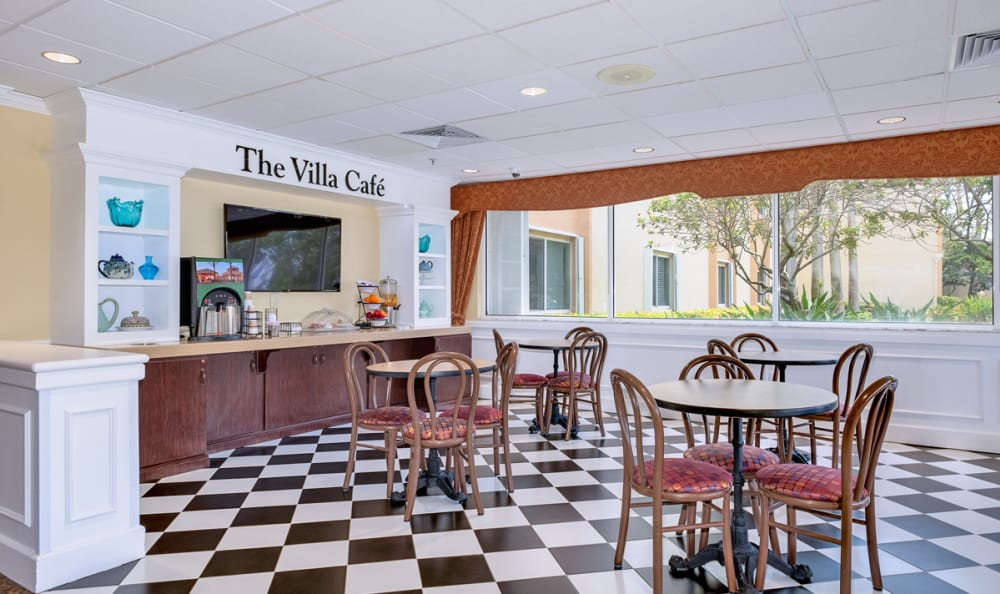 Cafe at Grand Villa of Deerfield Beach in Deerfield Beach, Florida