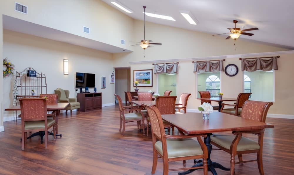 Common Area at Grand Villa of Englewood in Englewood, Florida
