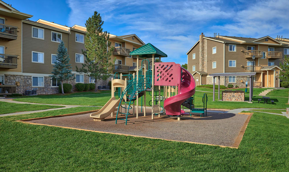 Playground At Crossroads at City Center Apartments