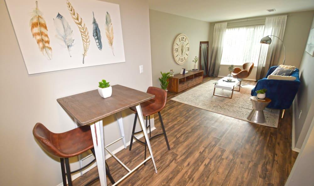 Open dining room Spice Tree Apartments in Ann Arbor, MI