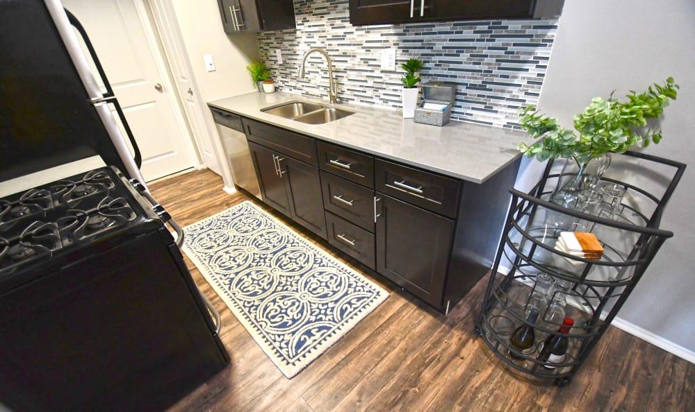 Spacious kitchen at Spice Tree Apartments in Ann Arbor, MI