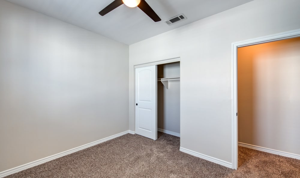 bedroom at IMT Rancho Serrano Townhomes in Thousand Oaks, CA