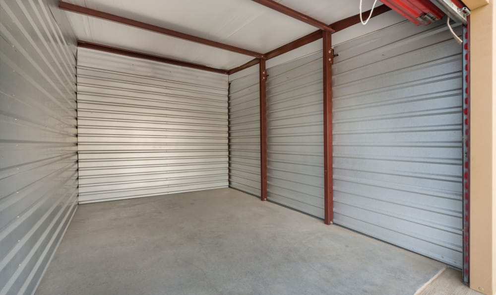 Open unit at Smart Space Self Storage - Stetson Hills in Colorado Springs, Colorado