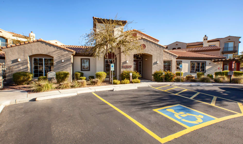 Clubhouse exterior at Waterford at Peoria in Peoria, AZ