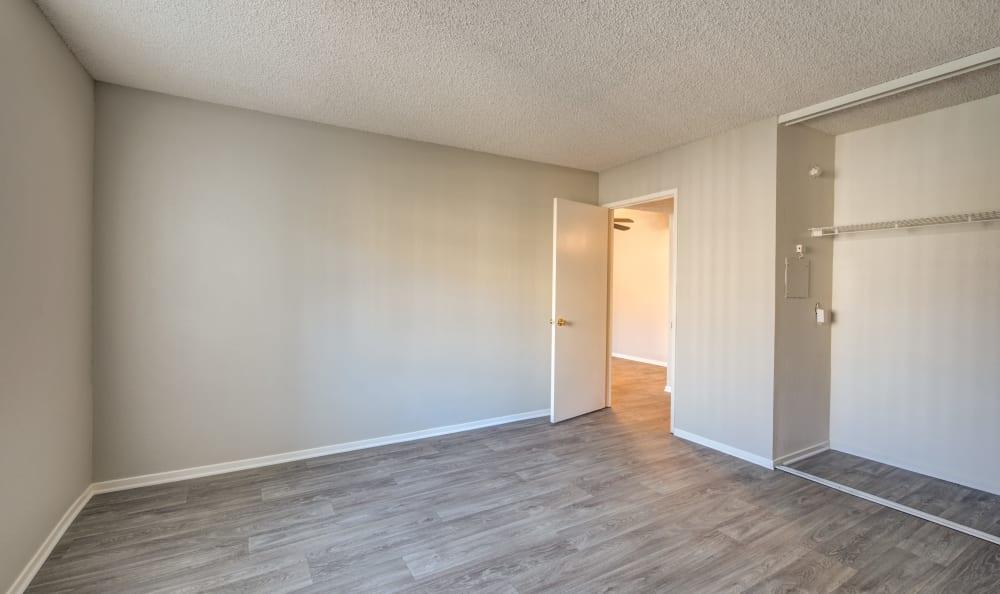 Bedroom at Cordova Park Apartment Homes in Lancaster, California