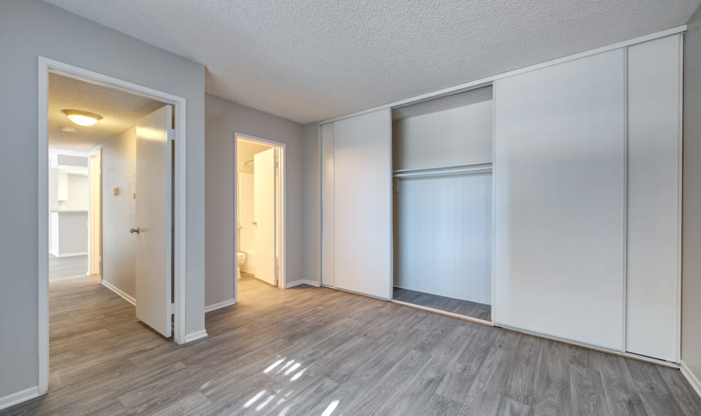 Bedroom Layout at Cordova Park Apartment Homes in Lancaster, CA