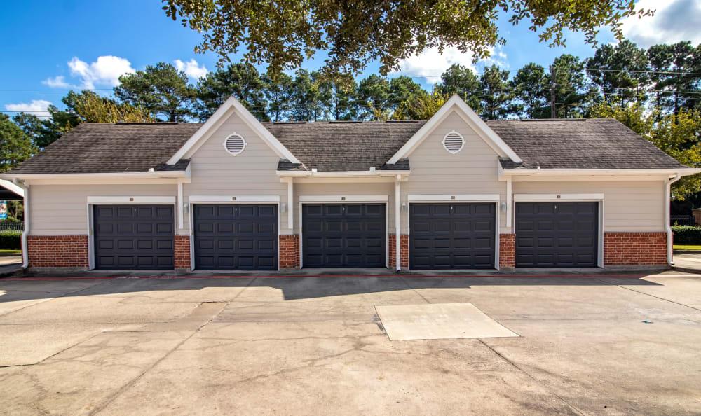 Resident parking garage at IMT Kingwood in Kingwood, Texas