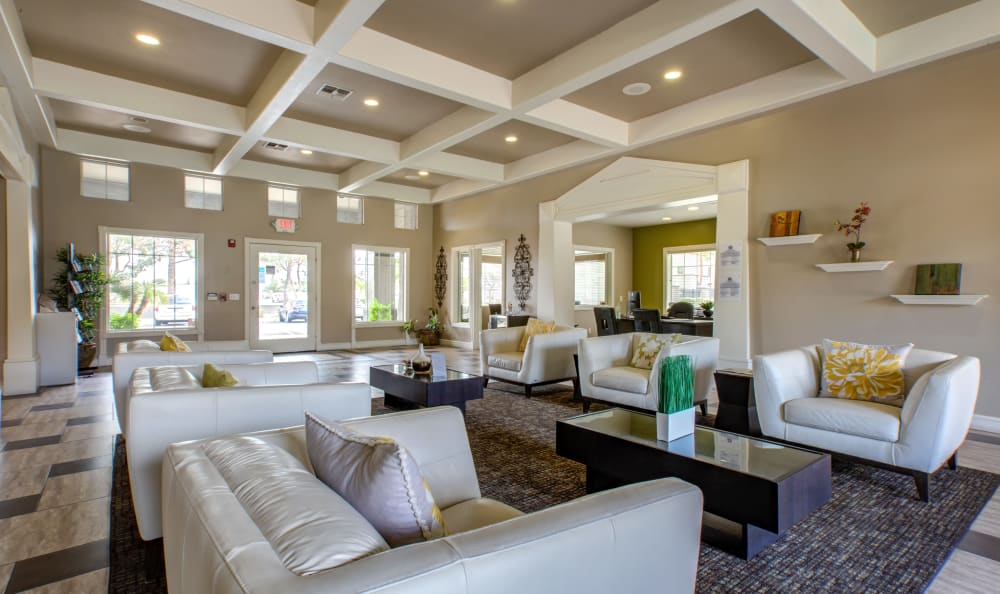 Luxurious resident clubhouse interior at Sierra Canyon in Glendale, Arizona