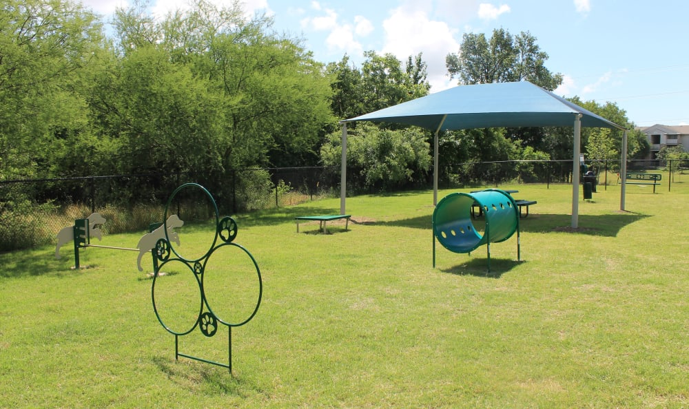 Leash-Free Dog Park at Springs at Cottonwood Creek Apartments