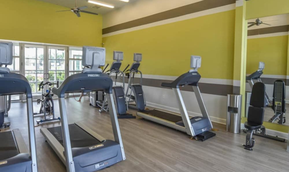 Fitness facility at Springs at La Grange in Louisville, Kentucky.