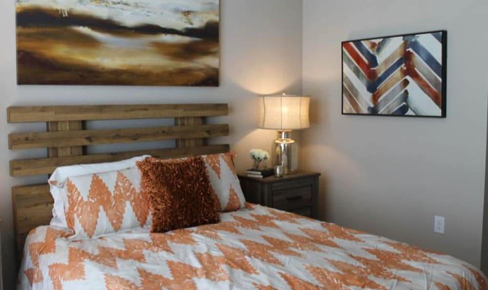 Spacious bedrooms at Springs at La Grange in Louisville, Kentucky.