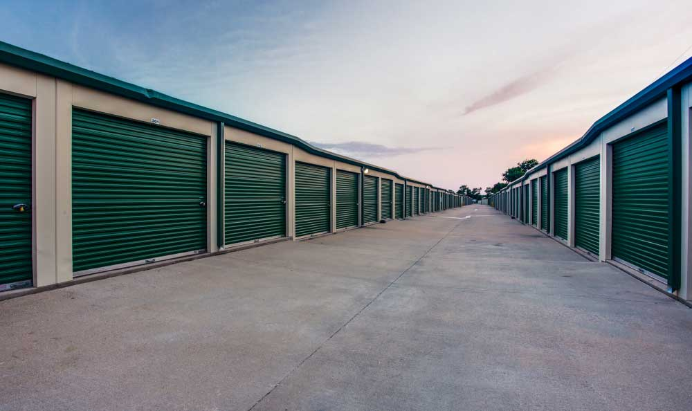 All units located on ground level at Advantage Storage - Saginaw in Fort Worth, Texas