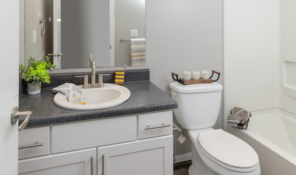 White Renovation Bathroom with tub