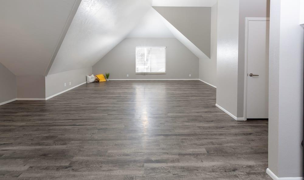 Open living room concept floor plan