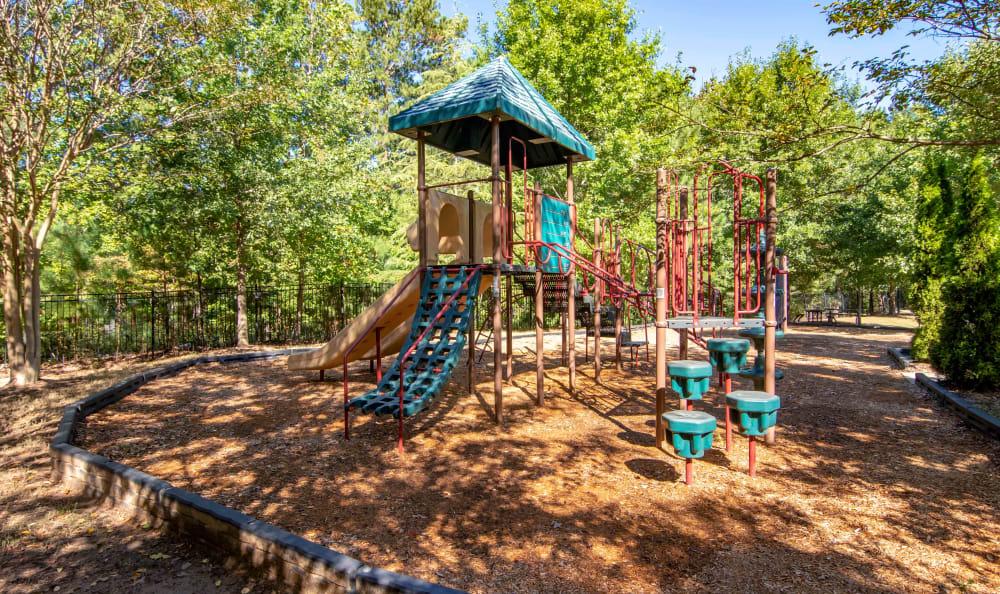 Onsite children's playground at Landing Square in Atlanta, Georgia