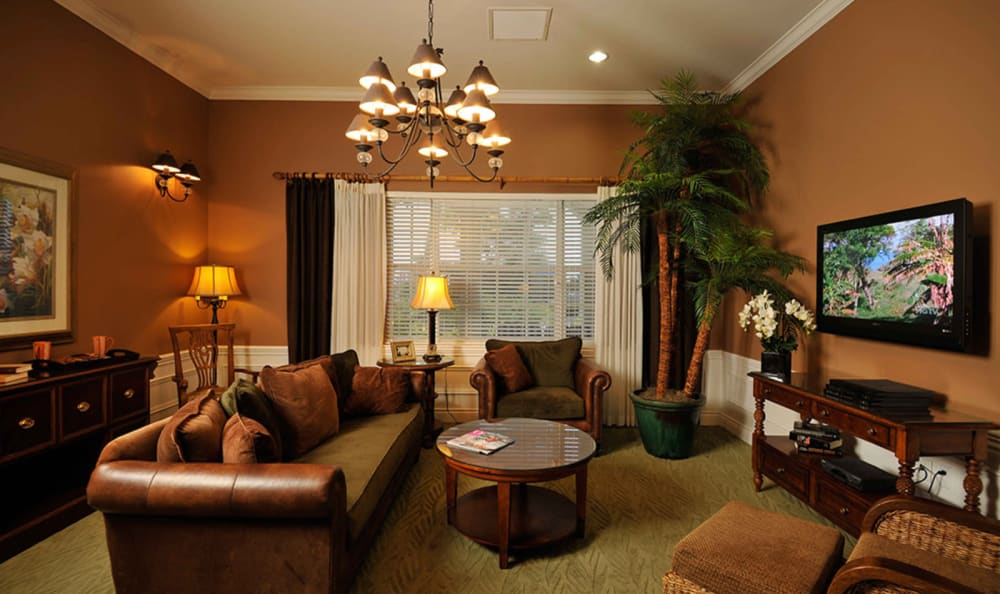 Comfortable spaces at Tequesta Terrace in Tequesta, Florida