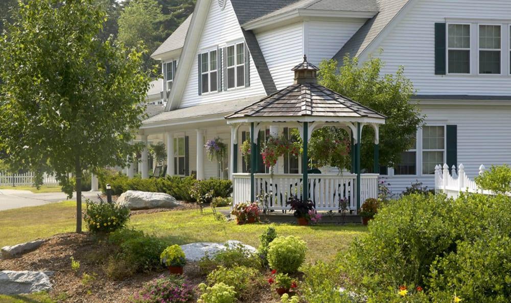 Gazebo at Wheelock Terrace in Hanover, New Hampshire